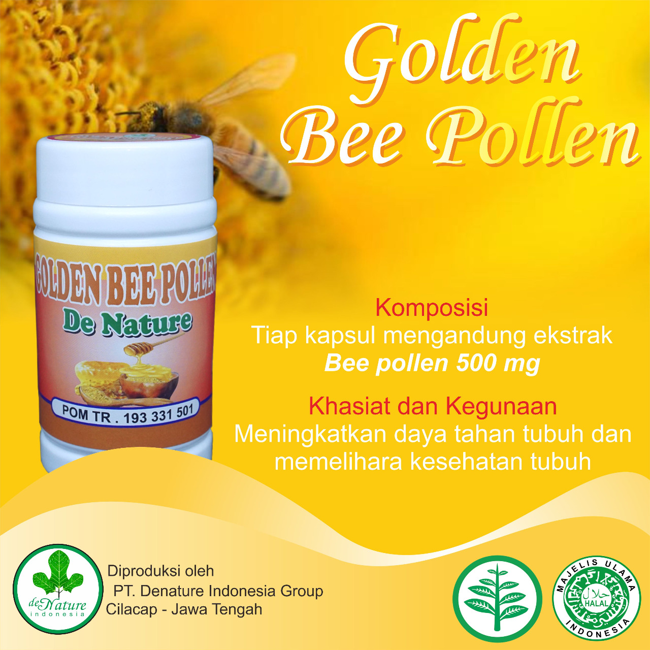 golden bee pollen de nature